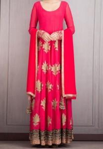 Manish Malhotra Dresses Designs Red 2016 Salwar Kameez Suit Frocks