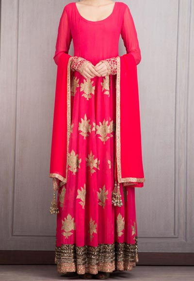 Manish Malhotra Dresses Designs Red 2016 Salwar Kameez Suit Frocks