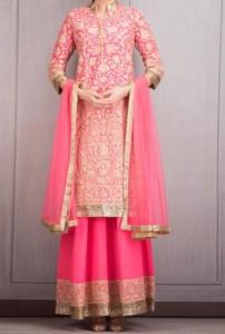 New Manish Malhotra Dresses Designs Bridal 2016 Long Salwar Kameez Suit Winter Collection