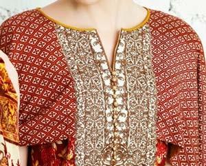 New Neck Designs 2016 017 for Salwar Kameez, Punjabi Suits Kurti Gala
