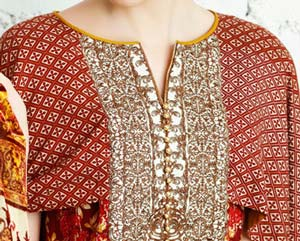 New Neck Designs 2016 017 for Salwar Kameez, Punjabi Suits Kurti Gala