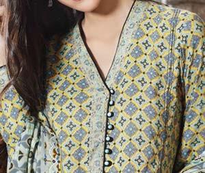New Neck Designs 2016 for Salwar Kameez, Punjabi Suits Kurti Gala with Button