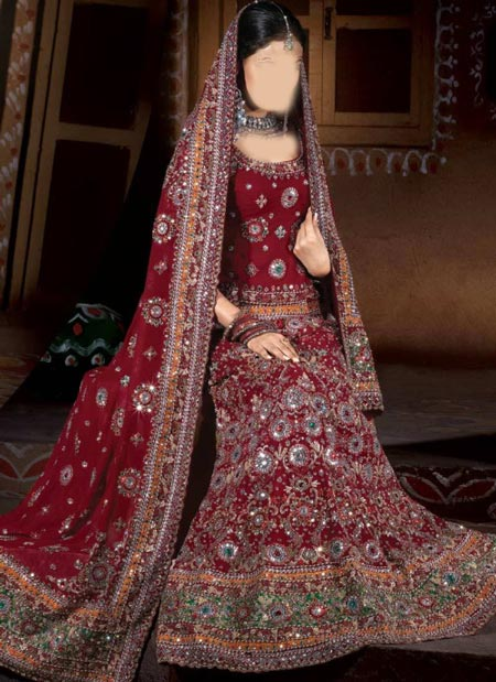 New Designs Fashion 2016 Fish cut or Fishtail Bridal Lehenga design