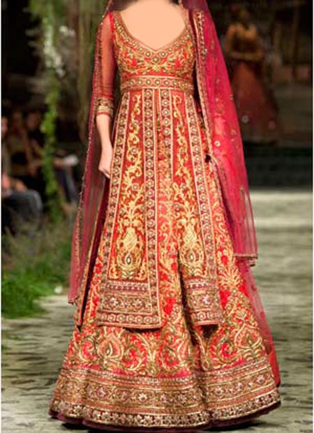 New Designs Fashion 2016 Flares Bridal Lehenga designs
