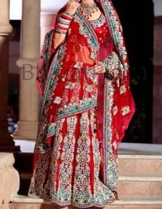 New Designs Fashion 2016 Panelled Bridal Lehenga Designs