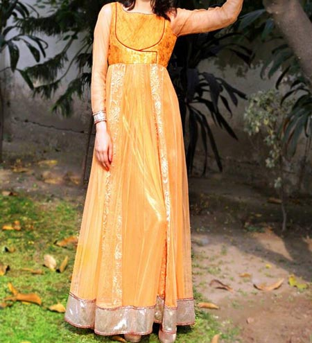 New Frock Design 2016 Latest Style Fashion Angrakha