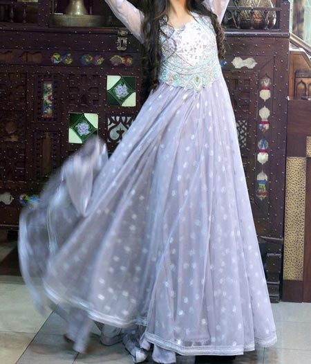 New Frock Design 2016 Latest Style Fashion Pakistan