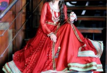 New Frock Design 2016 Latest Style Fashion Red