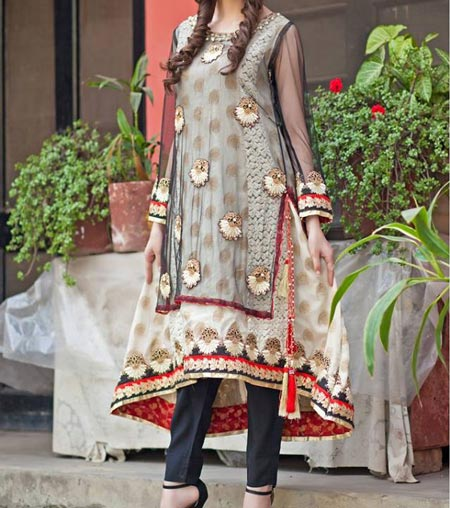 New Frock Design 2016 Latest Style Fashion