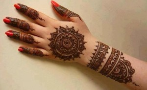 Bangle-Style-Khaleeji Henna, Mehndi Designs for Hand and Feet 2016 2017