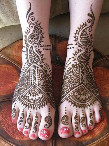 Bridal-Khaleeji Henna, Mehndi Designs for Hand and Feet 2016 2017