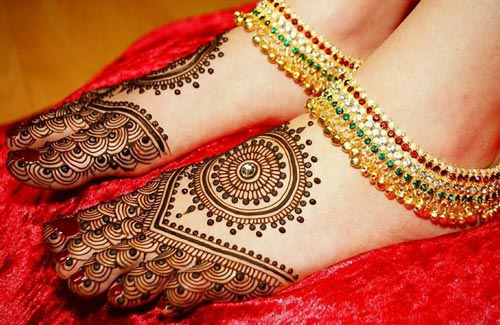 Bridal Khaleeji Henna, Mehndi Designs for Hand and Feet 2016 2017
