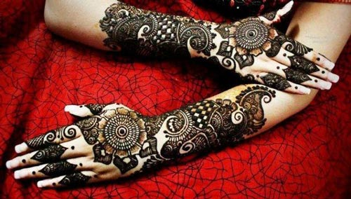 Intricately-Khaleeji Henna, Mehndi Designs for Hand and Feet 2016 2017