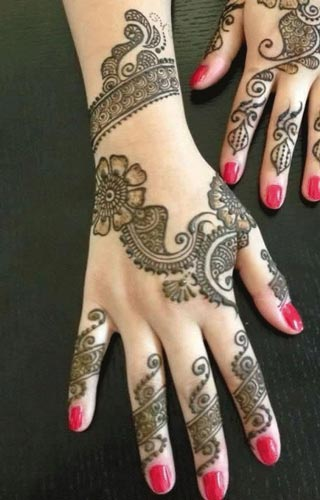 Khaleeji Henna, Mehndi Designs for Hand and Feet 2016 2017