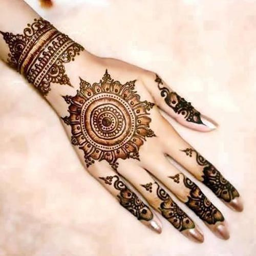 Mango-Motif-Khaleeji Henna, Mehndi Designs for Hand and Feet 2016 2017
