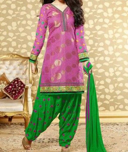 Neck Design Patiyala Dress Suit Patiala 2016 Punjabi Salwar Kameez 2
