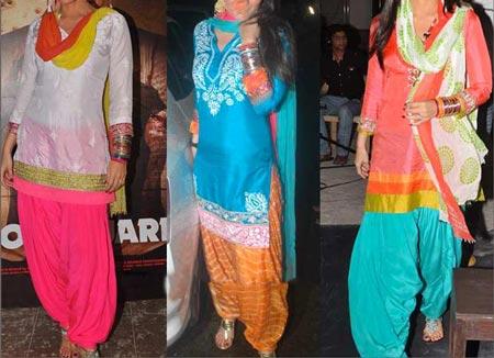 Neck Design Patiyala Dress Suit Patiala 2016 Punjabi Salwar Kameez manish-malhotra