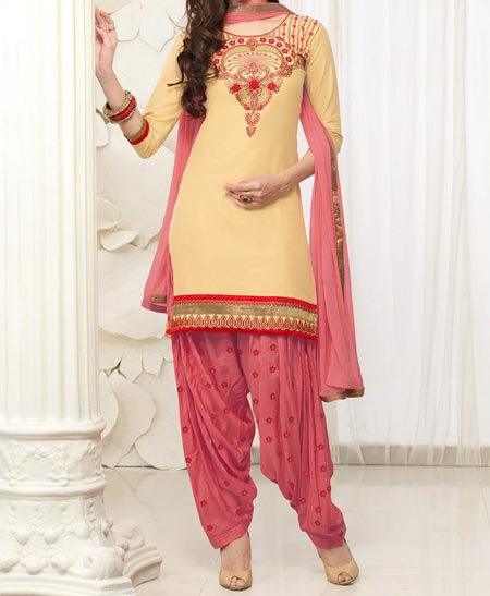 Neck Design Patiyala Dress Suit Patiala 2016 Punjabi Salwar Kameez