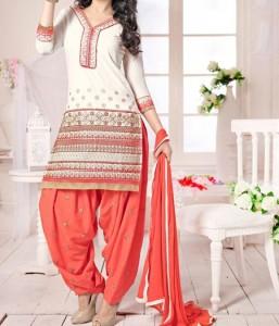 New Latest Neck Design Patiyala Dress Suit Patiala 2016 Punjabi Salwar Kameez