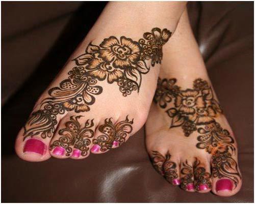 Khaliji Mehndi Designs Khaleeji Henna For Hand And Feet 2016