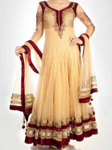 Anarkali Frocks Suit 2016 2017 Designs Fashion in India Pakistan Stylish