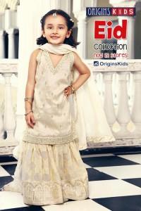 Latest Sharara and Gharara Designs For Kids 2016 2017 Ghagra Choli 5