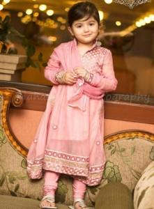 Little-Girls-Baby-Girls-Party-Wedding-Dress-Suit-Pakistani-Indian-2016-2017-Pink-Cute