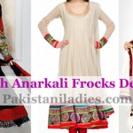 New Fashion Anarkali Frock Suits with Churidar Designs