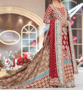 Bridal Wedding Dresses Lehenga Choli 2016 Fashion in Pakistan and India