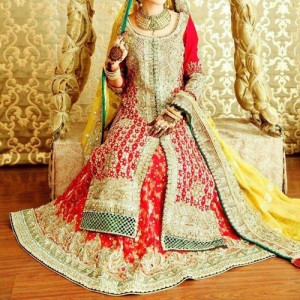 New Fashion of Bridal Dresses 2016 2017 in Pakistan and India