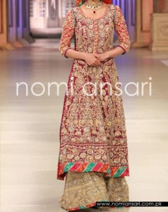 New Fashion of Bridal Dresses 2016 2017 in Pakistan and India 4