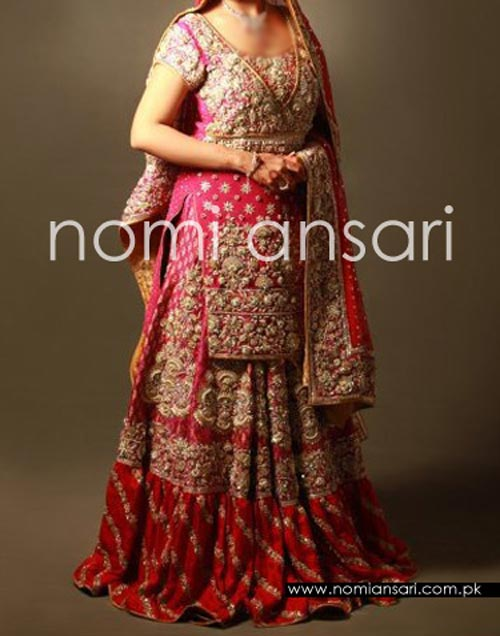 New Fashion of Bridal Dresses 2016 2017 in Pakistan and India Pics
