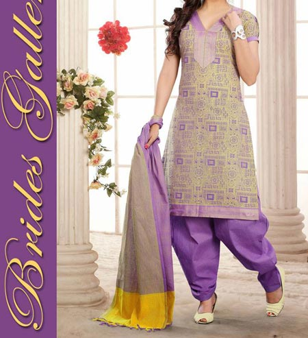 Beautiful-Cotton New Fashion Punjabi Salwar Kameez Patiala Suits Designs 2016 2017
