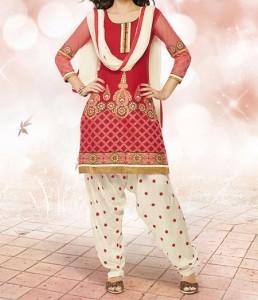 Fancy New Fashion Punjabi Salwar Kameez Patiala Suits Neck Designs 2016 2017 India