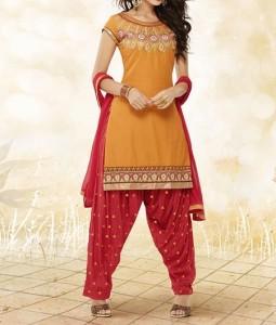 Latest-New Fashion Punjabi Salwar Kameez Patiala Suits Designs 2016 2017 India