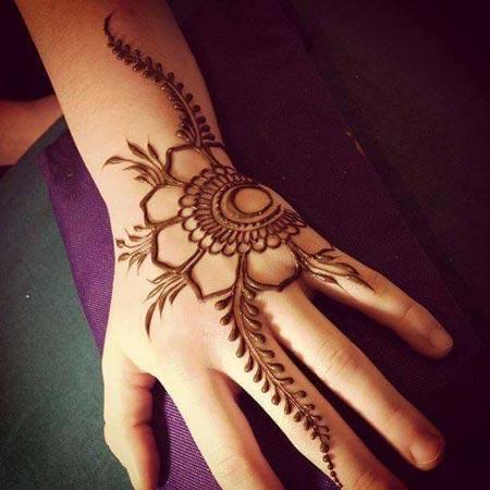 New Stylish Arabic Hands Mehndi Designs For Beginners 2016 2017