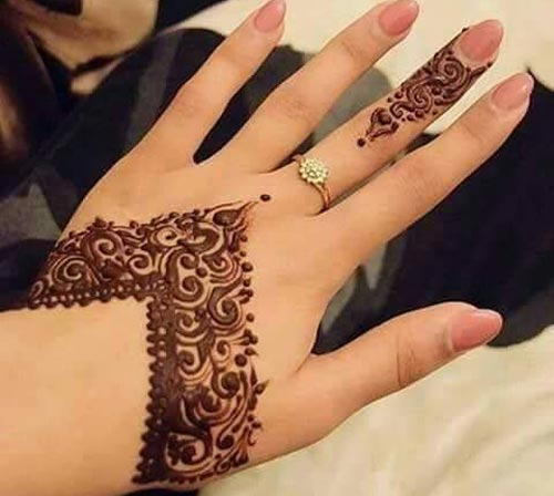 Mehndi Designs New Models : Latest mehndi design for hands male models picture