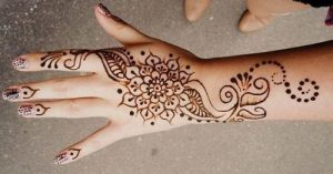 New Arabic Simple easy Mehndi Designs For Beginners Hands 2016 2017 Dots-and-Lines