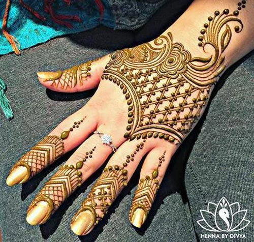 Mehndi New 2017 : Latest eid mehndi designs  for hands indian