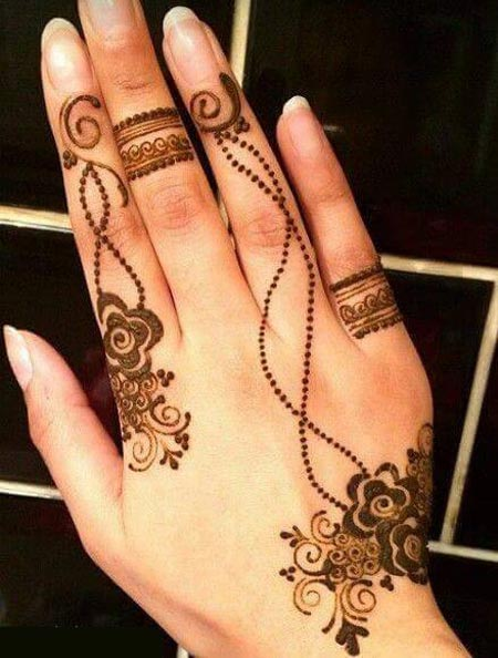 Simple Mehndi Designs For Hands 2017: Latest Eid Mehndi Designs 2016 2017 for Hands Indian Pakistanirh:pakistaniladies.com,Design