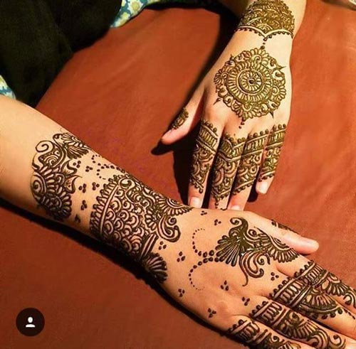 Mehndi New 2017 : Lastest mehendi designs for hands makedes