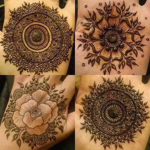 Mehndi Palm Designs 2017 : Latest eid mehndi designs  for hands indian