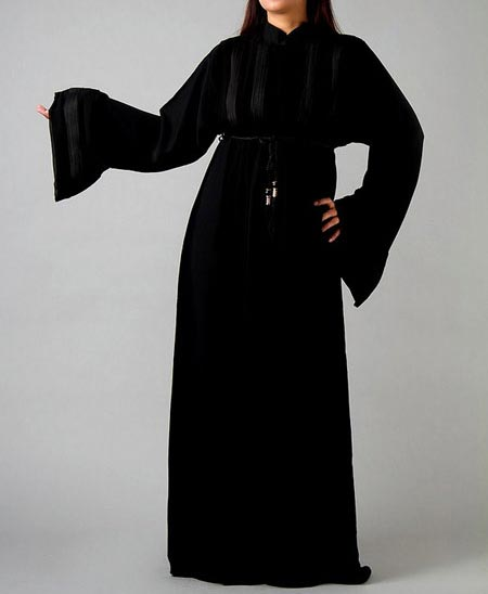 Black Plain Abaya Designs 2016 2017 Burqa Burka in Pakistan India Saudi Arabia