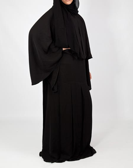 Black Simple Abaya Designs 2016 2017 Burqa Burka in Pakistan India Saudi Arabia 1