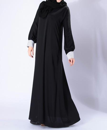 Black Simple Abaya Designs 2016 2017 Burqa Burka in Pakistan India Saudi Arabia