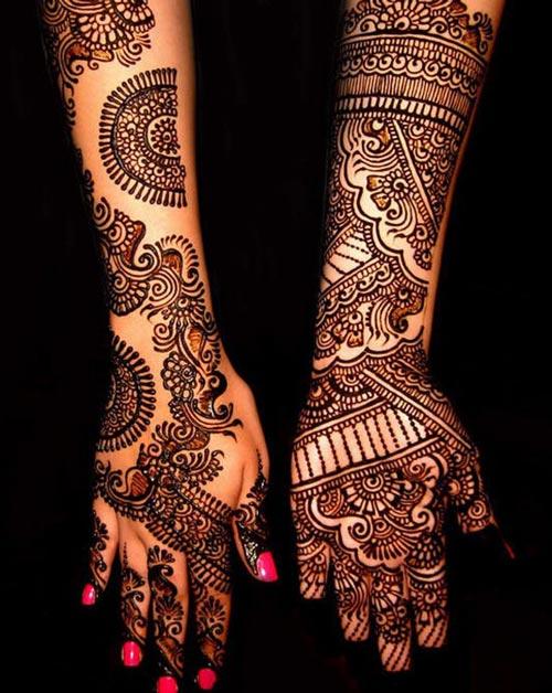Latest-Pakistani-Indian-Dulhan-Mehndi-Design-for-Hands-Feet-Legs-2016-2017-1