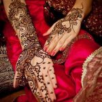 Latest Dulhan Mehndi Design for Full Hands Feet Legs Images