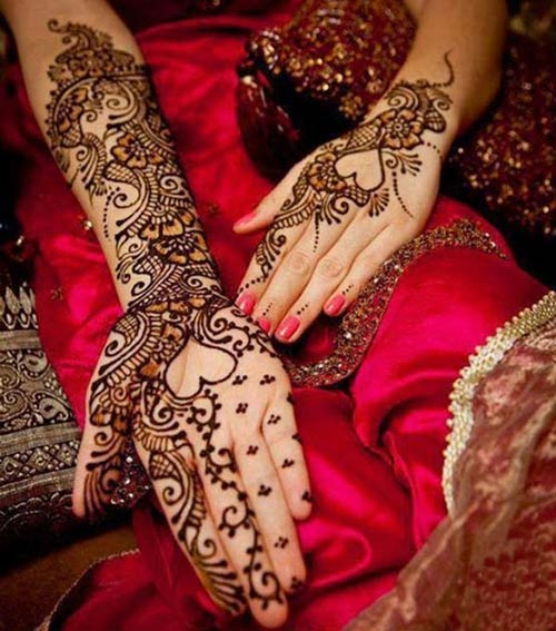 Latest-Pakistani-Indian-Dulhan-Mehndi-Design-for-Hands-Feet-Legs-2016-2017-2