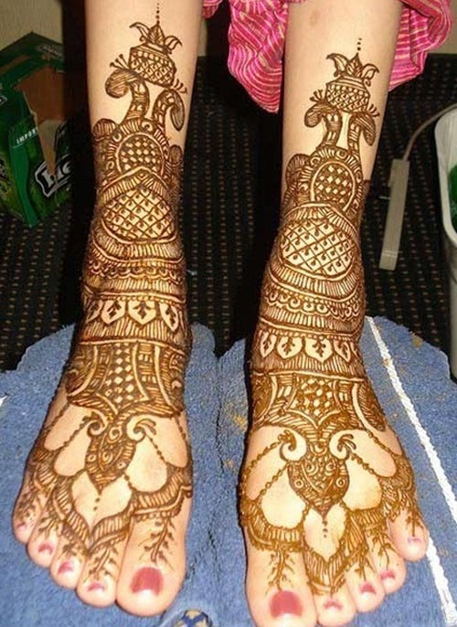 Latest-Pakistani-Indian-Dulhan-Mehndi-Design-for-Hands-Feet-Legs-2016-2017-3