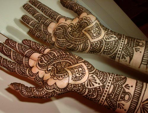 Bridal Mehndi Hands And Feet : Beautiful bridal mehndi designs guide patterns